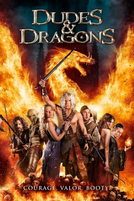 Dudes and Dragons (2015) poster