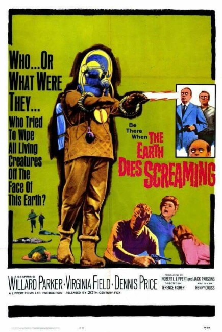 The Earth Dies Screaming (1964) poster