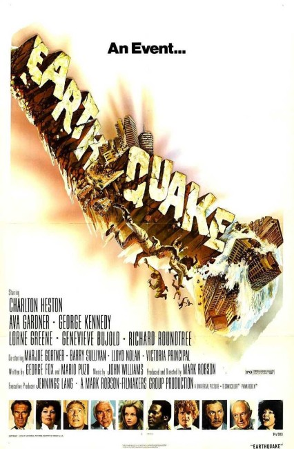 Earthquake (1974) poster