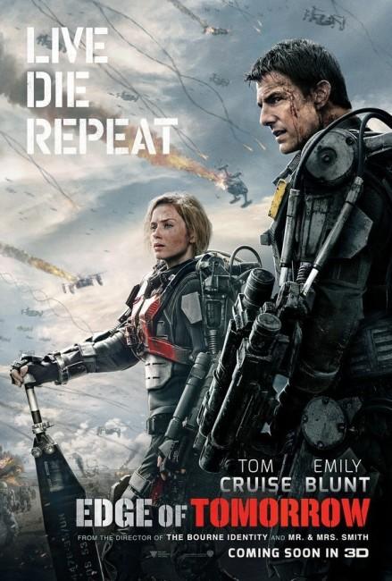 Edge of Tomorrow (2014) poster