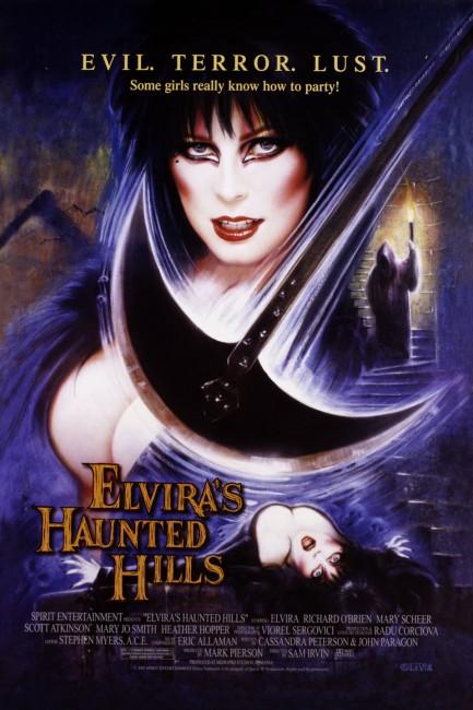 Elvira's Haunted Hills (2001) poster