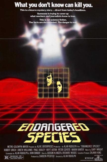Endangered Species (1982) poster