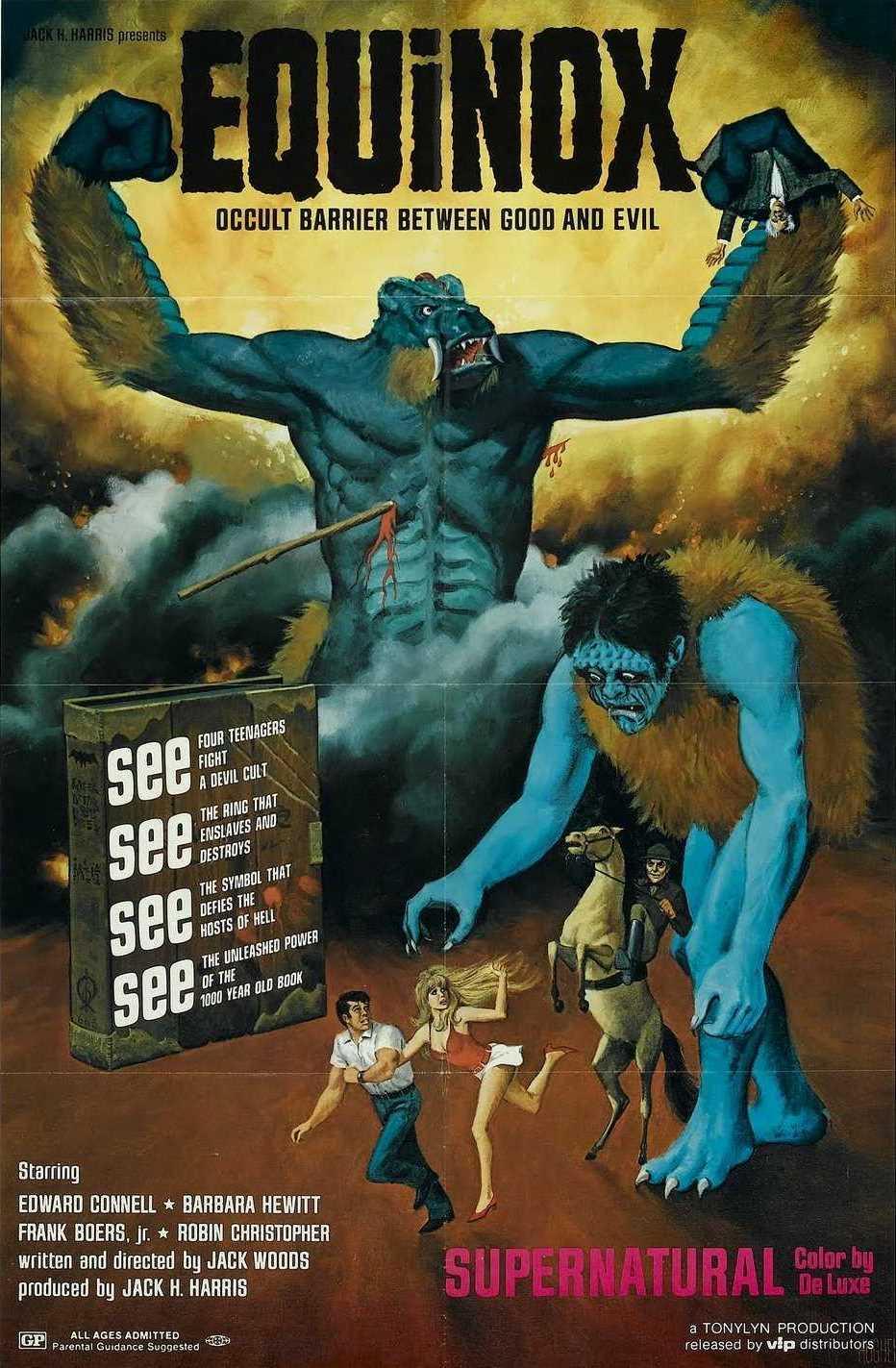 Equinox (1970) poster