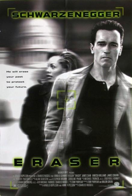 Eraser (1996) poster