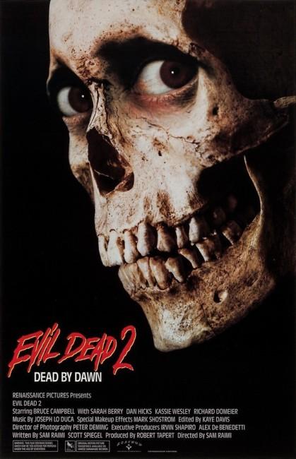 Evil Dead II (1987) poster