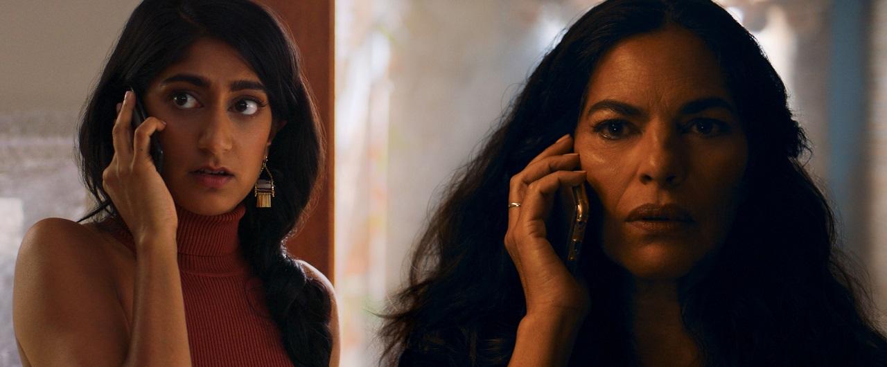 Daughter Sunita Mari and mother Sarita Choudhury in Evil         Eye (2020)