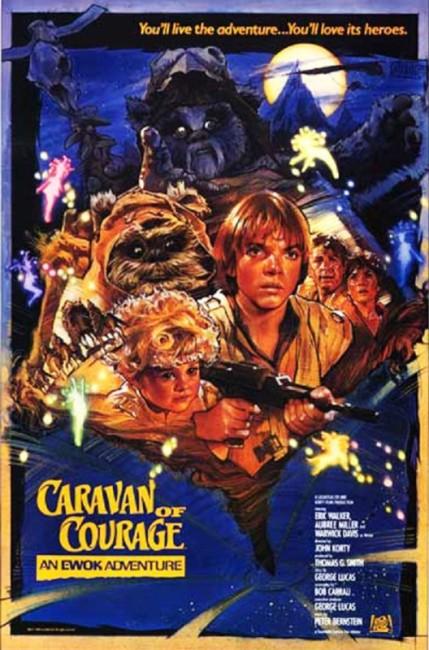 The Ewok Adventure /Caravan of Courage (1984) poster