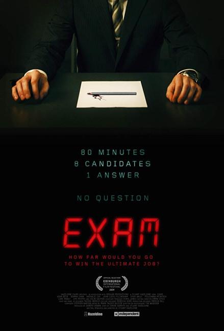 Exam (2009) poster
