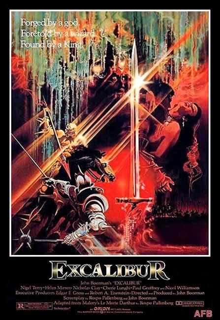 Excalibur (1981) poster