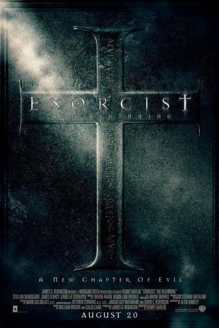 Exorcist: The Beginning (2004) poster
