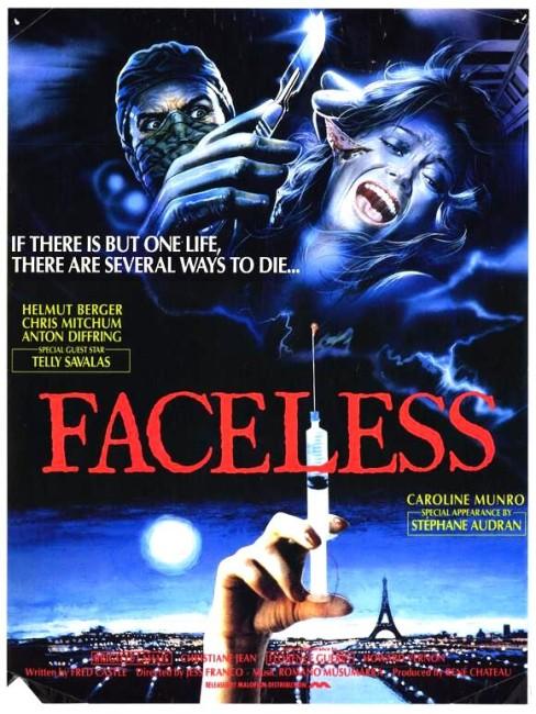 Faceless (1987) poster