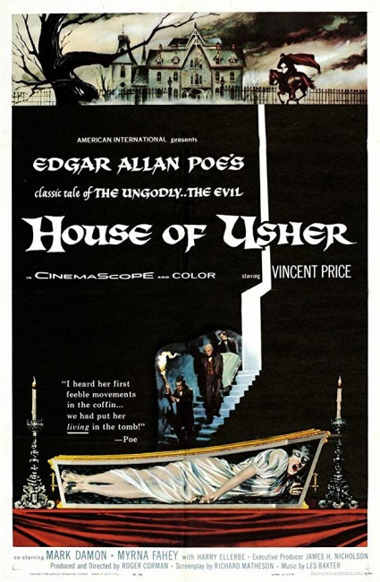 The House of Usher (1960) poster