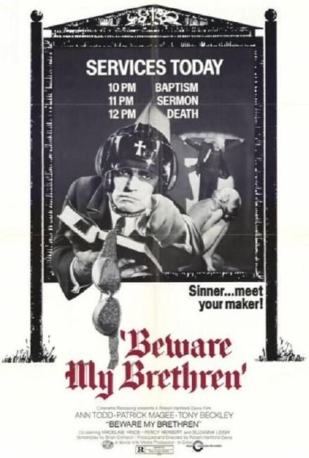 The Fiend/Beware My Brethren (1971) poster