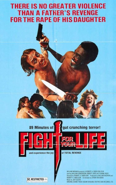 Fight For Your Life (1977) poster