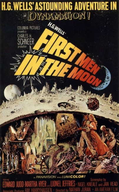 The First Men in the Moon (1964) poster