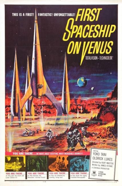 First Spaceship on Venus (1959) poster