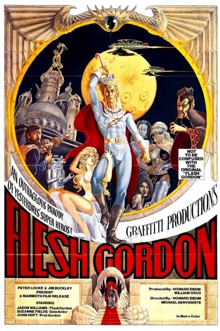 Flesh Gordon (1974) poster
