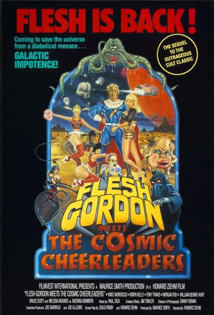 Flesh Gordon and the Cosmic Cheerleaders (1991) poster