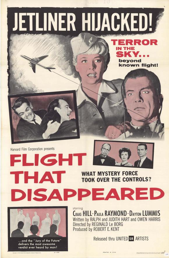 The Flight That Disappeared (1961) poster