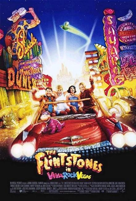 The Flintstones in Viva Rock Vegas (2000) poster