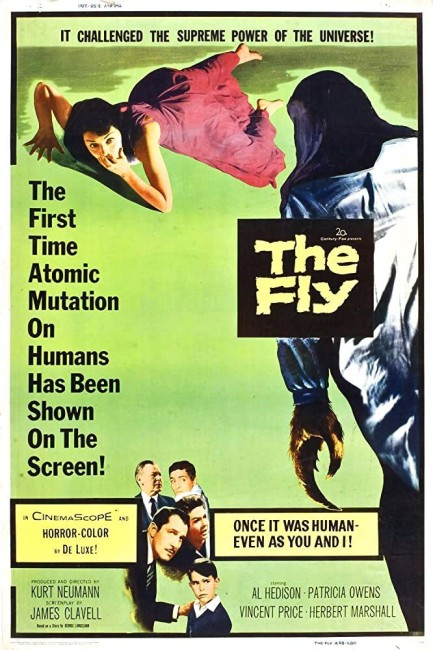 The Fly (1958) poster