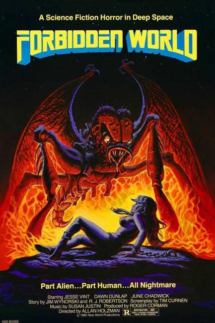 Forbidden World (1982) poster