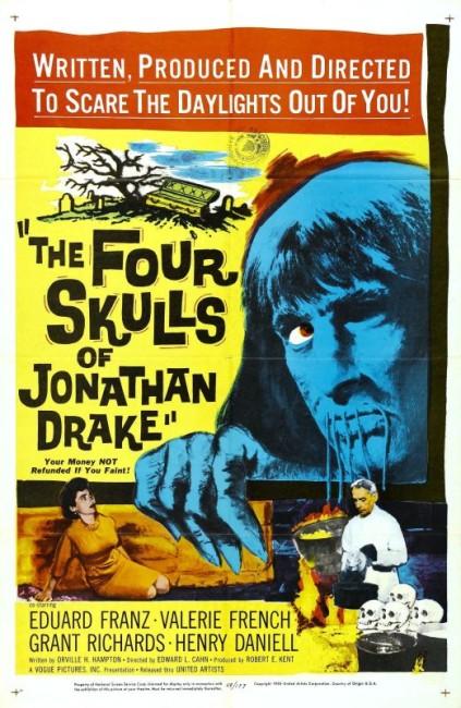 The Four Skulls of Jonathan Drake (1959) poster