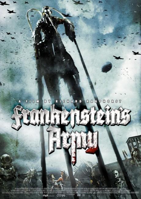 Frankenstein's Army (2013) poster
