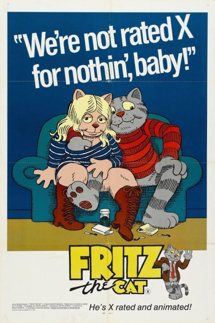 Fritz the Cat (1972) poster