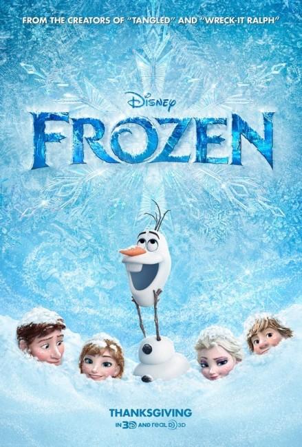 Frozen (2013) poster