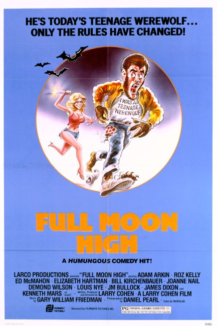 Full Moon High (1982) poster