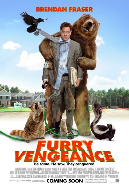 Furry Vengeance (2010) poster