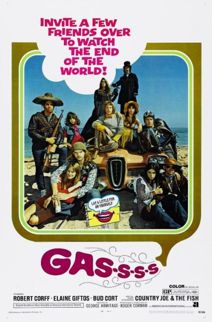 Gas; or It Became Necessary to Destroy the World in Order to Save It (1970) poster