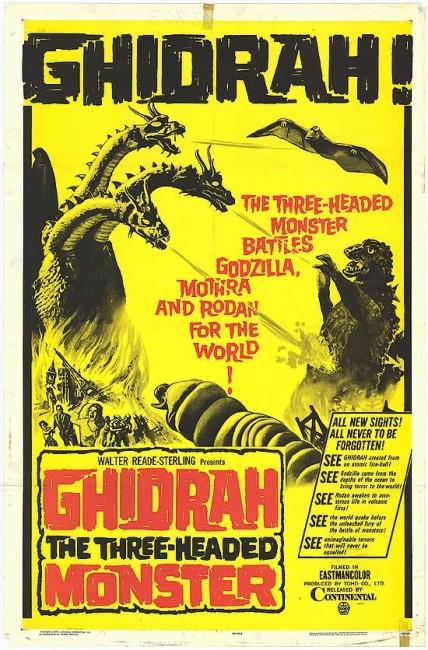 Ghidrah the Three-Headed Monster (1964) poster