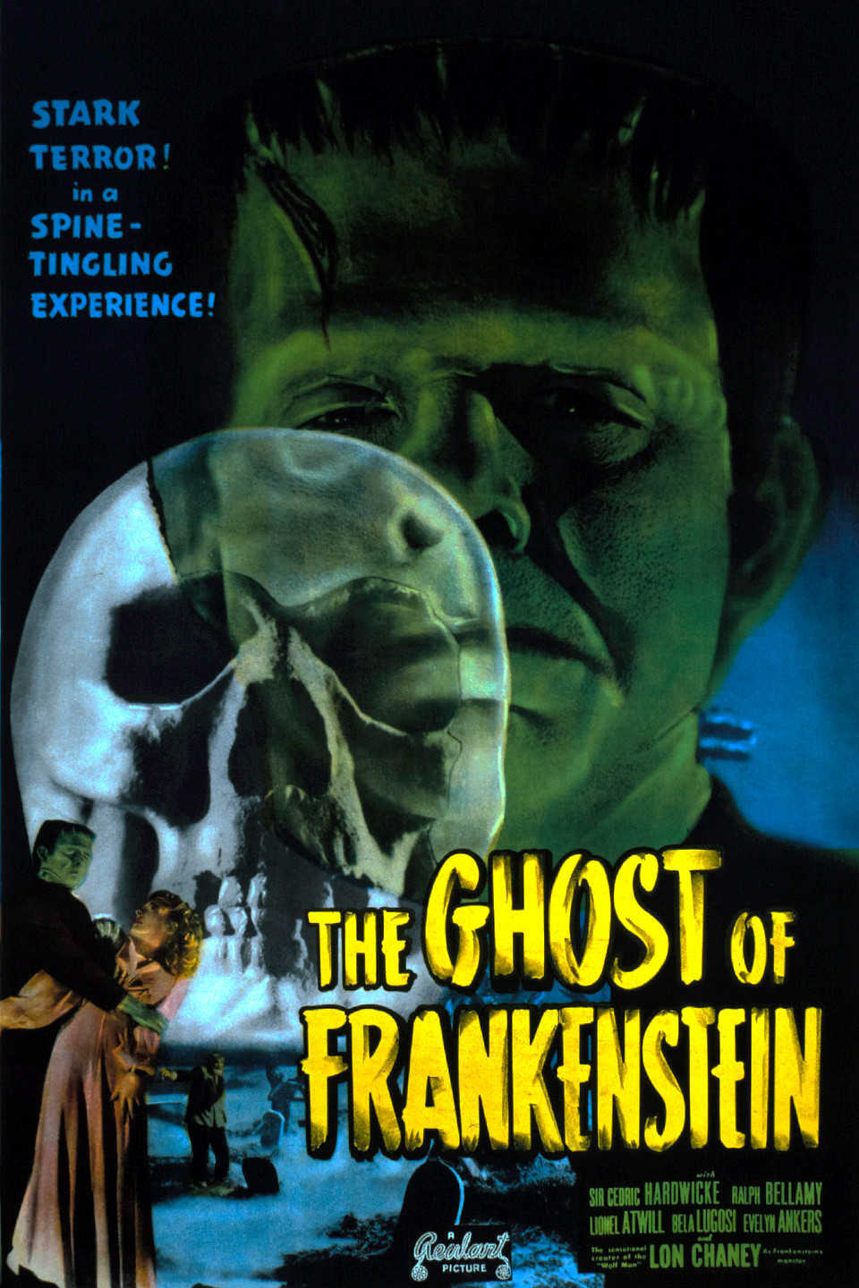 The Ghost of Frankenstein (1942) poster