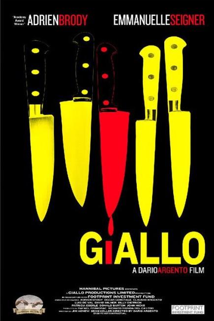 Giallo (2009) poster