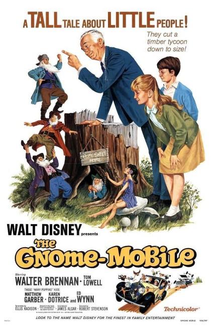 The Gnome-Mobile (1967) poster