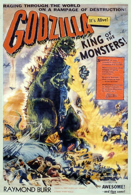 Godzilla, King of the Monsters (1954) poster