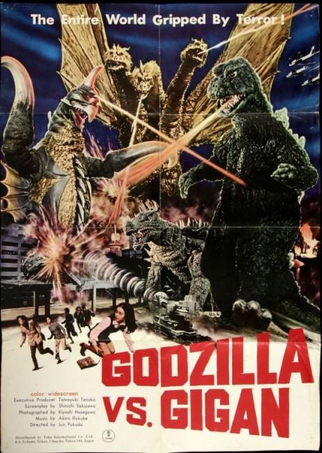 Godzilla vs Gigan (1972) poster