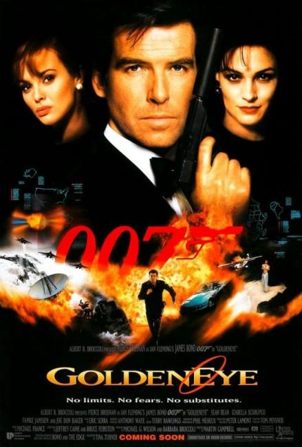 Goldeneye (1995) poster