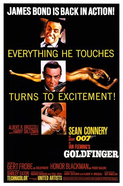 Goldfinger (1964) poster