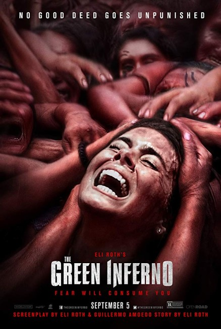 The Green Inferno (2013) theatrical poster