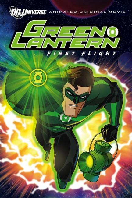 Green Lantern First Flight (2009) poster