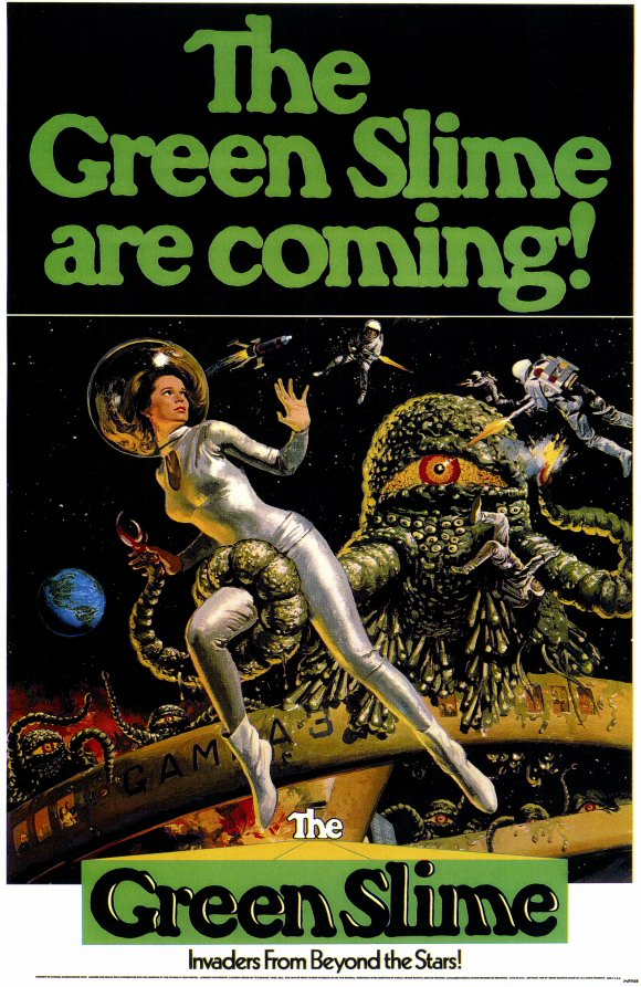 The Green Slime (1968) poster
