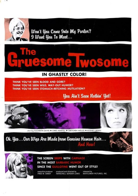 The Gruesome Twosome (1967) poster