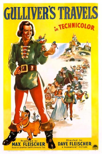 Gulliver's Travel (1939) poster