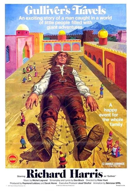 Gulliver's Travels (1977) poster