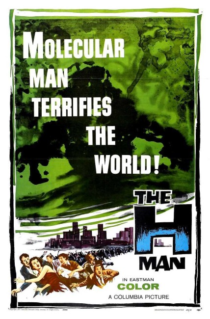 The H-Man (1958) poster