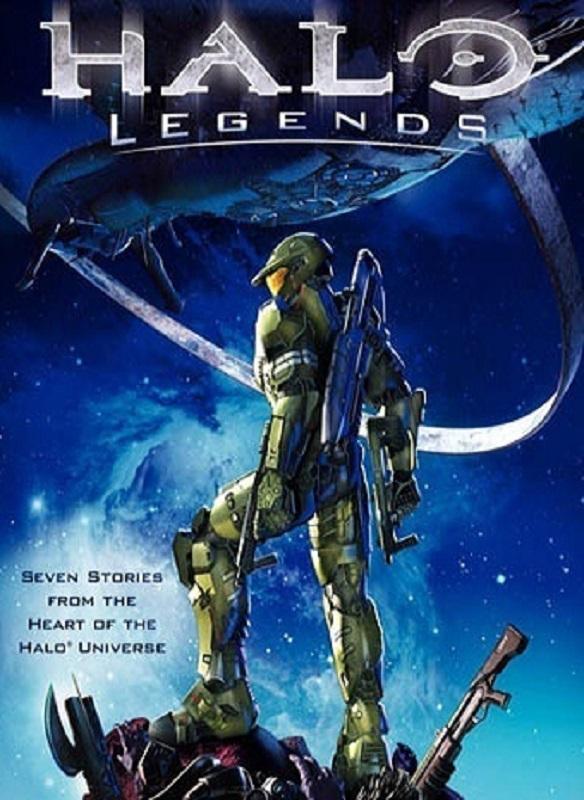 Halo Legends (2010) poster