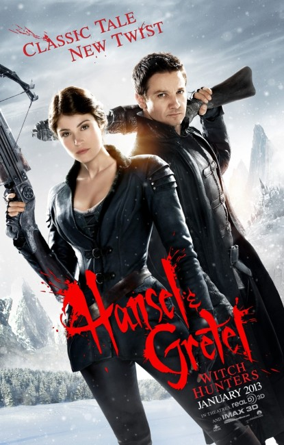Hansel & Gretel Witch Hunters (2013) poster
